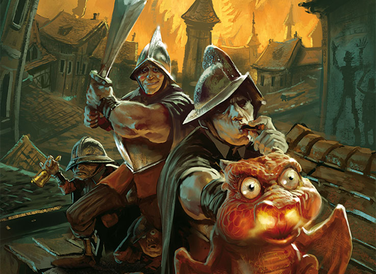Book Review: Guards, Guards by Terry Pratchett
