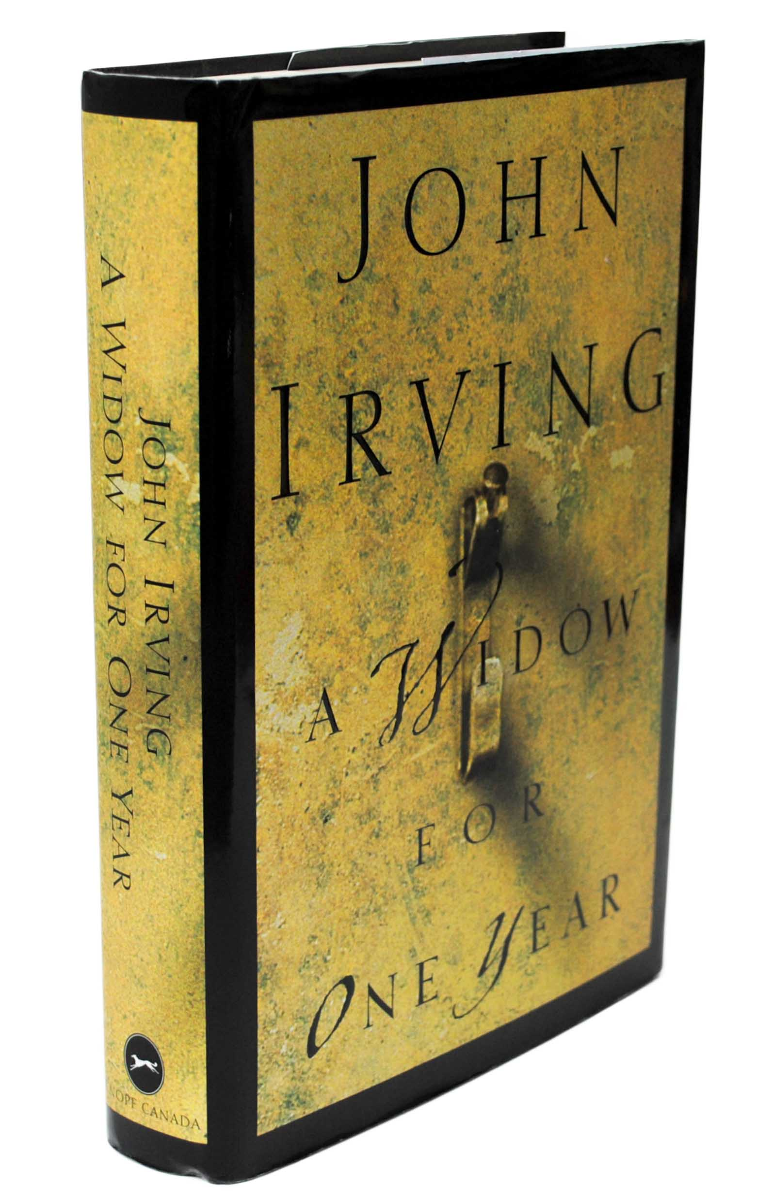 a widow for one year by When she was four and sleeping in the bottom bunk of her bunk bed, ruth cole woke to the sound of lovemaking—it was coming from her parents' bedroom this sentence opens john irving's ninth novel, a widow for one year, a story of a family marked by tragedy ruth cole is a complex, often.