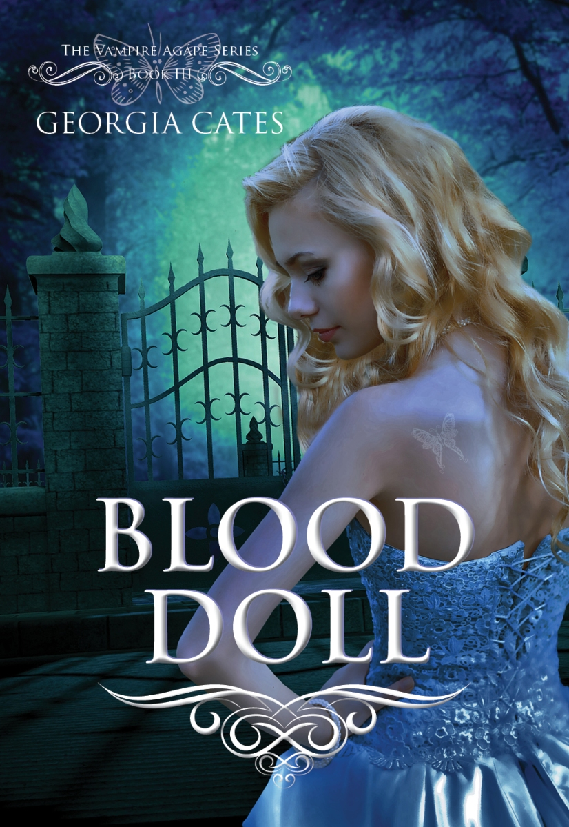 Cover Reveal: Blood Doll by Georgia Cates