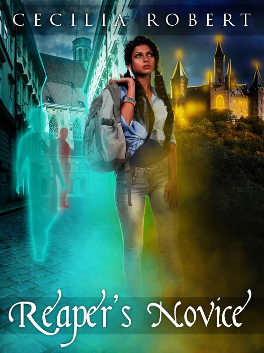 Cover Reveal: Reaper's Novice by Cecelia Robert